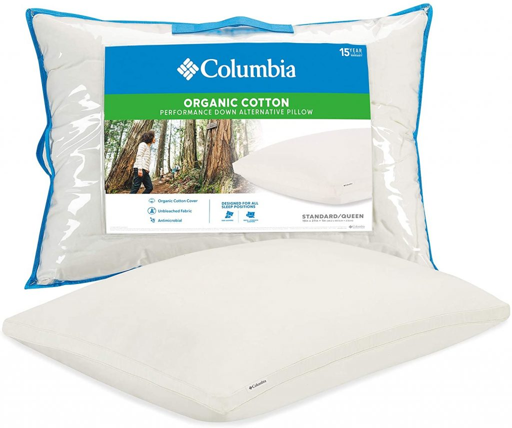 best organic cotton pillows