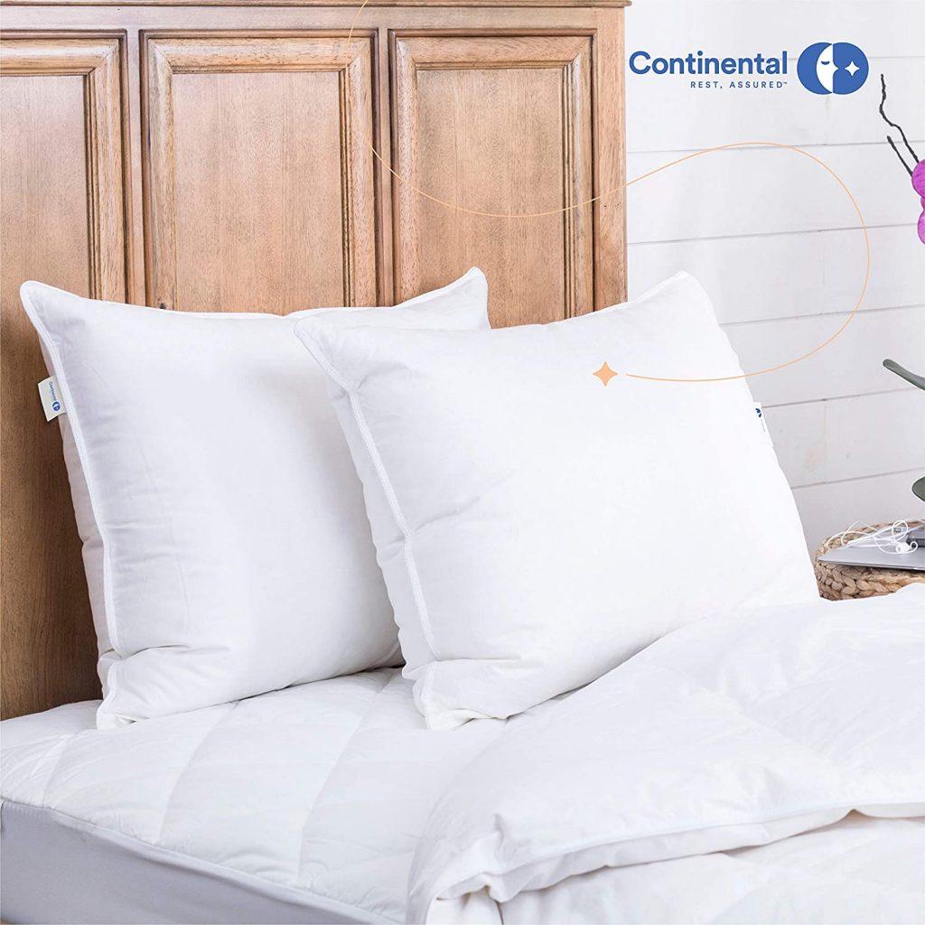 european white goose down pillows