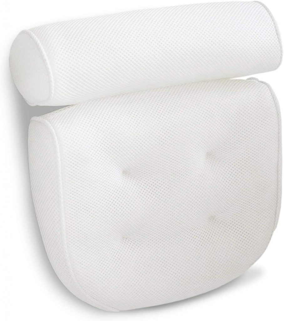 Best bath pillow for straight back tubs