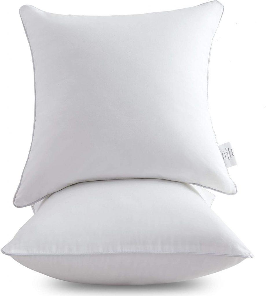 best pillow inserts 20x20